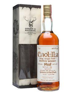 Caol Ila 1968 / / Gordon & Macphail Scotch Whisky : The Whisky… Whiskey Or Whisky, Whiskey Cocktails, Single Malt Whisky, Scotch Whiskey, Rare Whiskey, Whiskey Brands, Whiskey Sour, Bar Drinks, Alcoholic Drinks