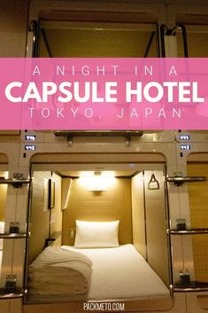 Have you ever wondered what it's like to stay in a capsule hotel in Japan? Wonder no more and check out my stay. Hotels In Tokyo Japan, Tokyo 2020, Kyoto, Japan With Kids, Japan Travel Guide, Travel Guides, Capsule Hotel, Visit Japan, Great Vacations