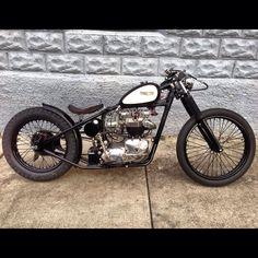Triumph Bobber motorcycle 88