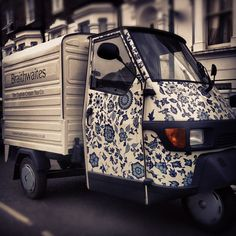 English Cream Teas at Braithwaites mobile tea room - Rupert Street, Soho (Tuesdays-Saturdays)