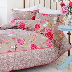 PiP Studio sängkläder - Birds in Paradise, khaki