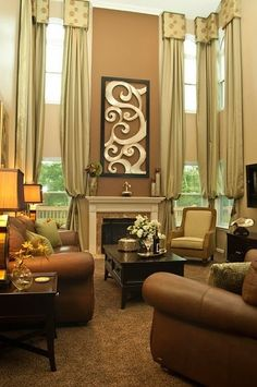 1000 images about two story window treatment on pinterest for 2 story window treatments