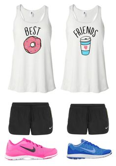 """""""Mile with Madi"""" by bigsiscorinne ❤ liked on Polyvore featuring NIKE"""