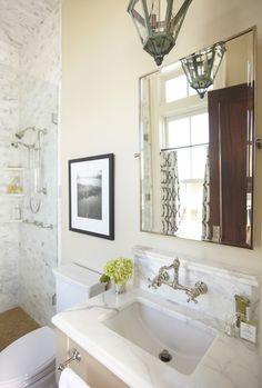 Master Bathroom Design Tips from Urban Grace  Read more - http://www.stylemepretty.com/living/2013/11/11/master-bathroom-design-from-urban-grace/