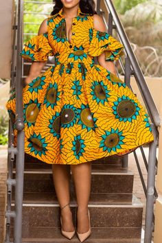 "Today we bring to you ""Pleasing Ankara Gowns to Copy."" These Ankara gowns are unique and they are pleasing. They are so pretty and lovely. Check them out and have blissful day ahead. African Fashion Ankara, African Fashion Designers, Latest African Fashion Dresses, African Print Fashion, African Prints, Ghanaian Fashion, African Fabric, African Inspired Fashion, Tribal Fashion"