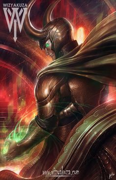 Loki by wizyakuza on DeviantArt Marvel Villains, Marvel Vs, Marvel Dc Comics, Marvel Heroes, Anime Comics, Evil Villains, Loki Laufeyson, Stan Lee, Thor