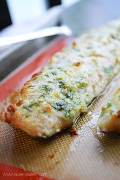 Garlic and Herb Baked Cod EASY AND IN 20 MINUTES YOU CAN HAVE THIS DELICIOUS FISH. COD IS A VERY MILD FISH. WITH THE PERFECT INGREDIENTS THAT MAKES THIS A SALTY, CREAMY, HERB AND CHEESY. YOU WILL ABSOLUTELY LOVE THIS WONDERFUL DISH. READY IN MINUTES. TRY THIS TODAY AND SO FOR YOURSELF...ENJOY