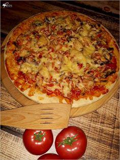 Frittata, Hawaiian Pizza, Vegetable Pizza, Hamburger, Cooking Recipes, Snacks, Dinner, Vegetables, Foods