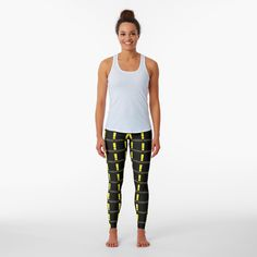 'New quest acquired Minimalist Word Design' Leggings by Word Design, Chiffon Tops, Pajama Pants, Minimalist, Meme, Leggings, Printed, Words, Awesome