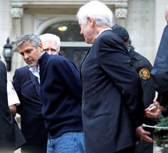 MARCH 16, 2012 - GEORGE CLOONEY ARRESTED  -    George Clooney and several other prominent participants, including Martin Luther King III, are arrested outside the Sudanese Embassy in Washington DC for civil disobedience.
