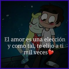 Imágenes de Frases Chistosas Art Quotes, Love Quotes, Cute Imagines, Starco, I Love You, My Love, Star Butterfly, Spanish Quotes, Love Messages