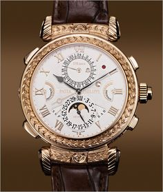 Patek Philippe Grandmaster Chime Ref. 5175, tribute to its 175th anniversary, Commemorative limited edition of 7 timepieces, Reversible case, 20 complications, Number of parts: 1,366.