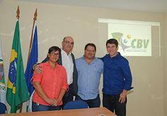 Jornalista Denise Machado: Apresentação do Viva Vôlei na OAB/Búzios