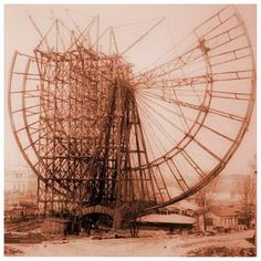 vintage everyday: The World's First Ferris Wheel