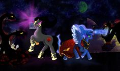 My Little Pony - Goodnight and Good Luck by Pixel-Spark on DeviantArt