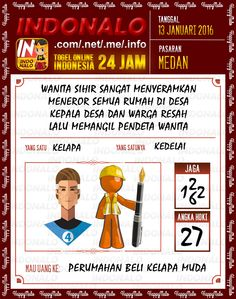 Prediksi Togel Online IndoNalo Medan 13 Jan 2016