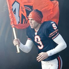 Robbie Gould...cant wait to rock my jersey during football season!