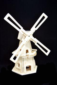 Windmill Jigsaw Robotime Solar Powere DIY Jigsaw Wood Winnower Kits Windmill Puzzle Child Educational Eco Friendly Gift Puzzle Legno di EdoCollection su Etsy