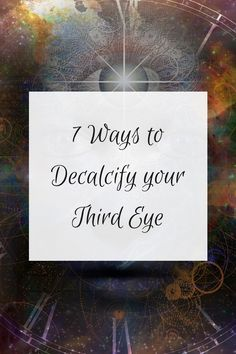 How To Decalcify Third Eye Olivia Budgen Blog