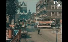 1920's London in color.