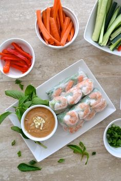 5 Ingredient Easy Peanut Sauce - The Fresh Find Easy Peanut Sauce, Homemade Peanut Sauce, Cooking Chinese Food, Asian Cooking, Appetizer Dishes, Appetizer Recipes, Appetizers, Dinner Recipes, Lunch Snacks