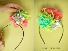 "Party ""hat"" tutorial"