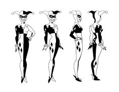 Living Lines Library: Batman (TV Series 1992–1995) - Model Sheets: Catwoman & Co.