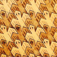 #tessellation #tiling #geometry #symmetry #Escher #Mc_Escher Symmetry nr 127