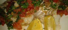 Kabeljauw Met Kruidige Tomatenvinaigrette, Smullen! recept | Smulweb.nl