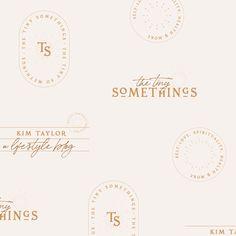 Brand Identity Design, Branding Design, Branding Ideas, Brochure Design, Digital Business Card, Business Card Design, Self Branding, Logo Branding, Lifestyle Blog
