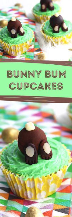 Bunny Bum Cupcakes.