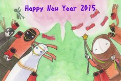Happy New Year from sataaako #JourneyPS4 #風ノ旅ビト