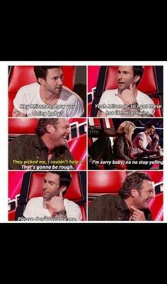 The voice Adam and Blake