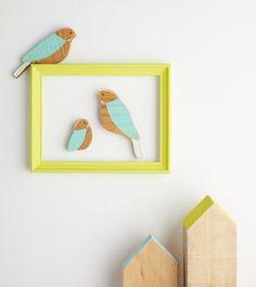 Family Wall Birds