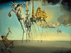 Salpastor Dali & Y Forban San Antonio, Salvador Dali Paintings, Catalogue Raisonne, Satanic Art, Francisco Goya, Gustave Courbet, Kids Art Class, Les Religions, Surreal Art