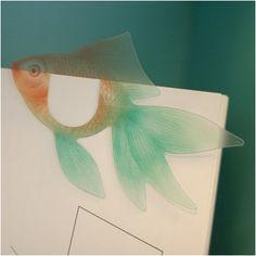MochiThings.com: Goldfish Bookmark