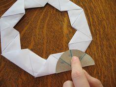paper frisbee geometry