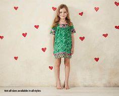 Little Girls Day Dresses - Green - ALDI Australia