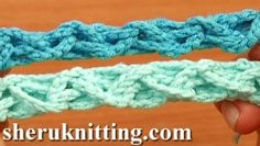 Crochet Zigzag Braided Cord Tutorial 58