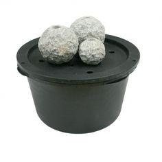 Ubbink Wasserspiel Set U201eKozaniu201c Inkl. Pumpe Granit Stein 2 Jahre 32,