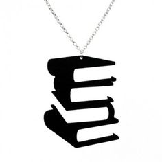 Laser cut recycled vinyl record silhouette necklace
