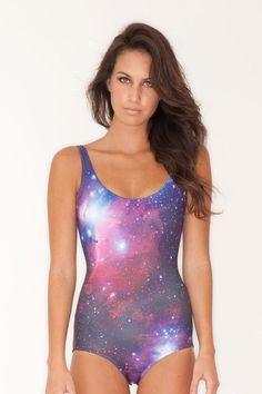 Galaxy swimsuit <3