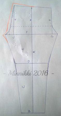 Leggins-tutorial in Finnish Diy Clothing, Sewing Clothes, Clothing Patterns, Sewing Patterns, Sewing Hacks, Sewing Crafts, Sewing Projects, Sewing Tips, Pattern Making