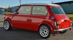 Red Classic Mini Coper