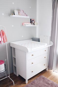 estanter/ía Wolke estante de pared Puck Daddy apto para el cambiador Puck Daddy para la c/ómoda de Ikea