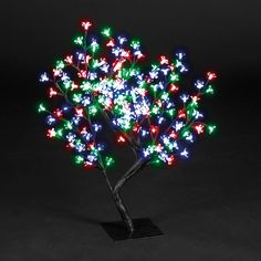 Snowtime 96 LED Light Blossom Tree