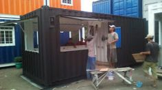 Cafe Container Jakarta - Cafe Container