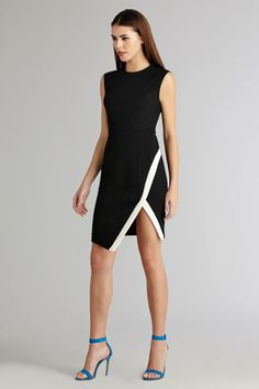 Feel effortlessly sophisticated in this chic sheath.