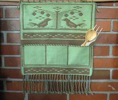 pockets on the wall Loom, Weaving, Pockets, Wall, Walls, Loom Weaving, Crocheting, Knitting, Hand Spinning