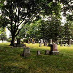 Always a treat to tour the Port #Oshawa Pioneer Cemetery. Added bonus, the lovely breeze atop Bonnie Brae Point.  #oshawamuseum #pioneercemetery #ouroshawa